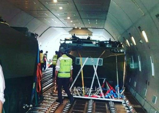 Arisgator Landed in Jakarta Halim PK